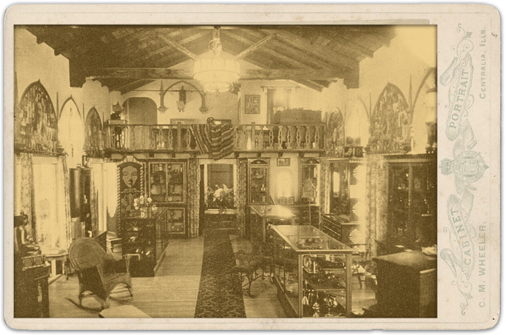 Photograph of the Thayer Magic Store at Brookledge